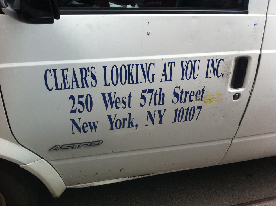 Clear's looking at you, Inc.