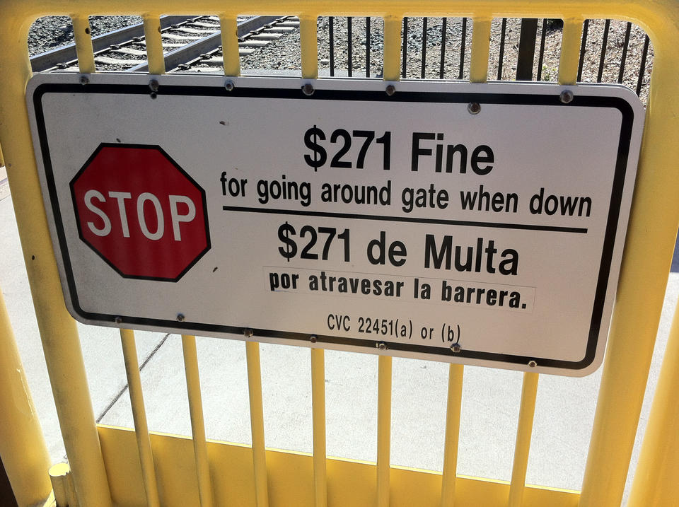 More odd-numbered fines