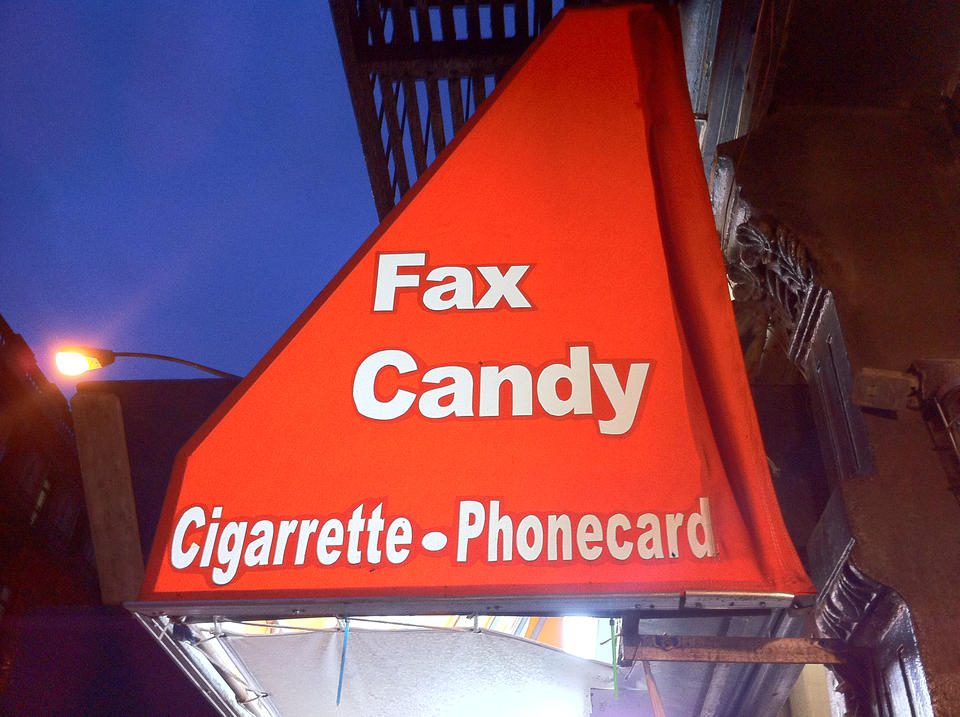 I smell fax and candy here, hmm...
