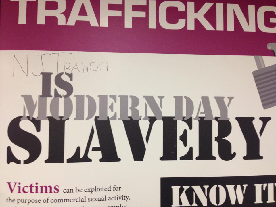 NJTransit is modern day slavery, apparently.
