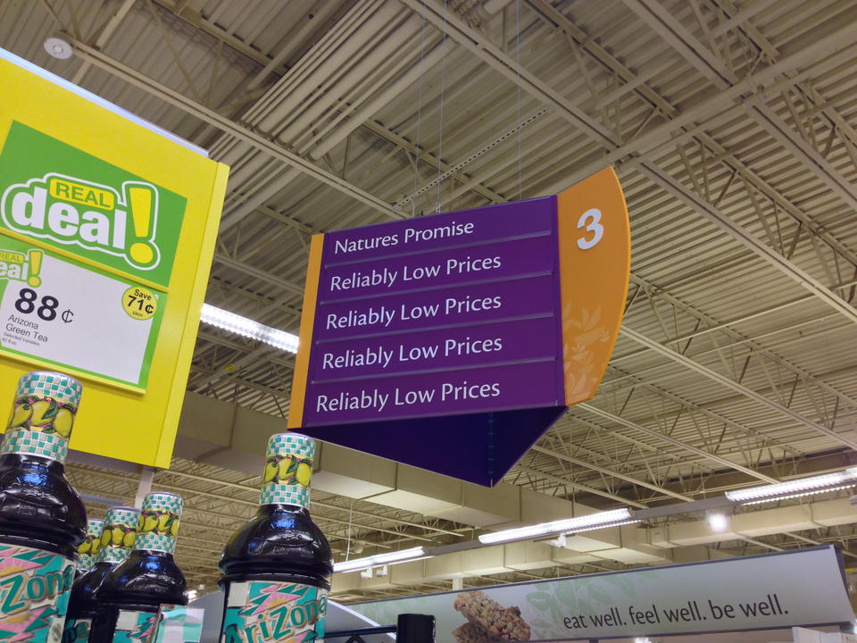 Reliably Low Prices