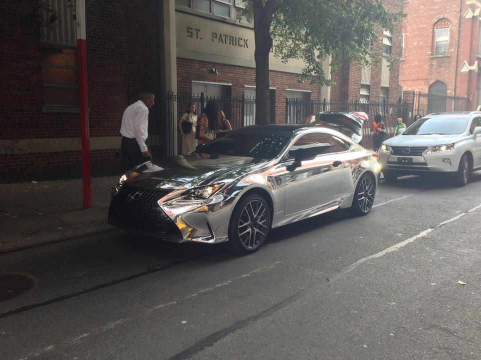 Chrome-Plated Lexus
