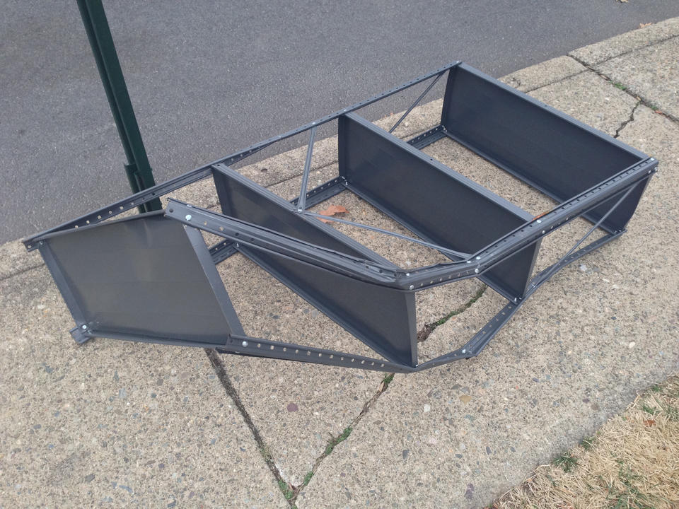 Aw cool! Free shelving!