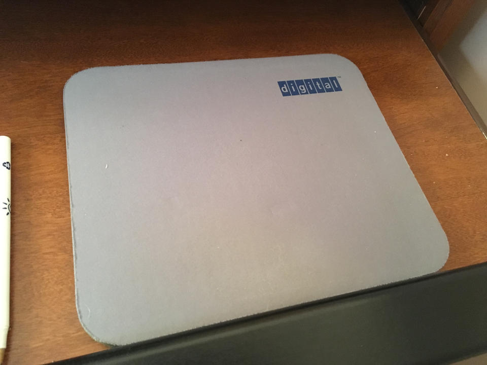 Maybe this mouse pad is worth something!